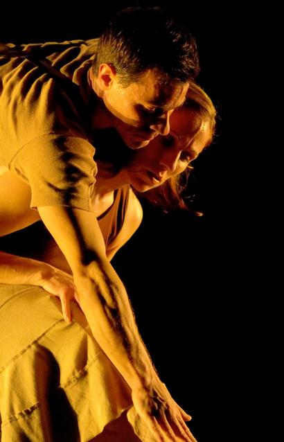 "McCaleb Dance members Eric Geiger and Elizabeth Swallow in ""La Rumorosa"" photo by E. Harel Copyright © 2005 All rights reserved."
